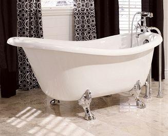 baignoires sabots sur pieds ou sans pieds tout sur la. Black Bedroom Furniture Sets. Home Design Ideas