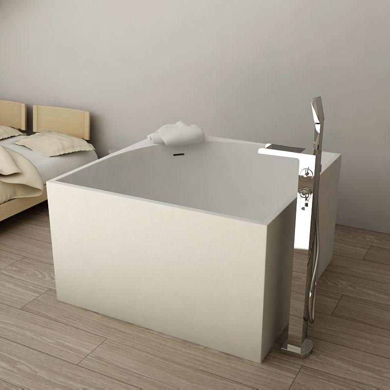 baignoire ilot carre 01 tout sur la baignoire. Black Bedroom Furniture Sets. Home Design Ideas