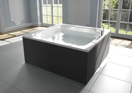 Les plus belles baignoires lots rectangulaire for Baignoire ilot carre