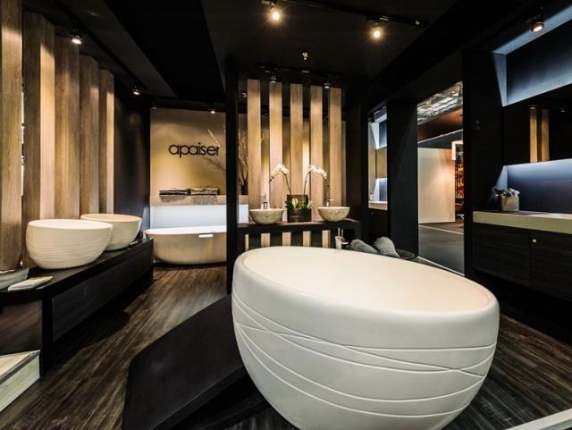 baignoire ilot ronde 01 tout sur la baignoire. Black Bedroom Furniture Sets. Home Design Ideas