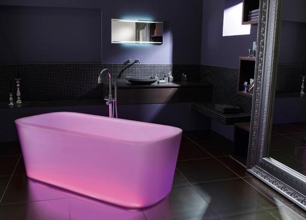 top 10 des baignoires roses et girly. Black Bedroom Furniture Sets. Home Design Ideas