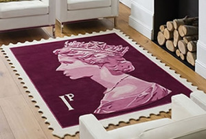 Tapis de bain version timbre